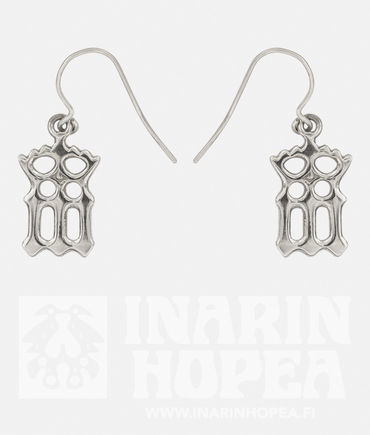 Virgin Mary Crown Earrings, S