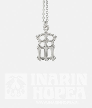 Virgin Mary Pendant with a crown, S